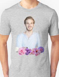 PEWDIEPIE - FLOWER BORDER Unisex T-Shirt