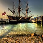 captain cooks endeavour ship by Matthew Jones