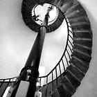 Inside South Stack Lighthouse.  by Raymond Kerr