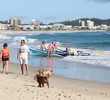 Palm Beach on the Gold Coast by aussiebushstick