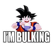 Goku - I'm Bulking Photographic Print