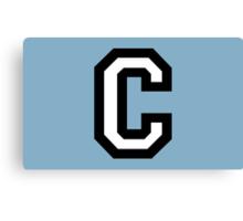 Letter C two-color Canvas Print