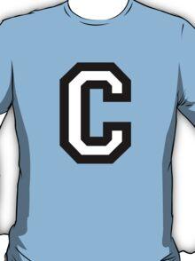 Letter C two-color T-Shirt
