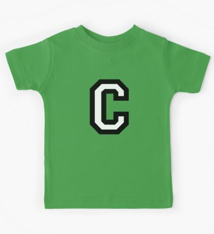 Letter C two-color Kids Tee