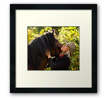 Everyone needs a hug Framed Print