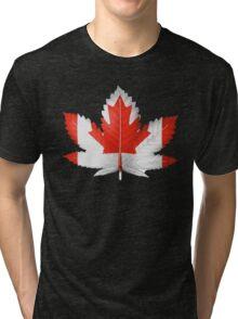 Canadian cannabis Tri-blend T-Shirt