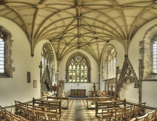 Lady Chapel, St David's Cathedral, Wales by Bob Culshaw