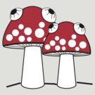 Mushroom lisergy by stereoplastika