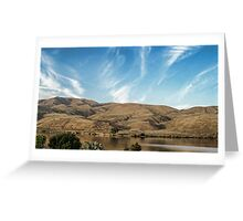 Drive By Scenery Greeting Card