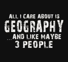 Geography Major TShirts & Hoodies by Awesome Arts