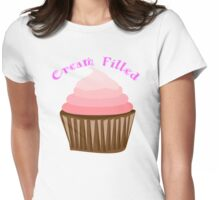 Iskybibblle Products/ Cream Filled Womens Fitted T-Shirt