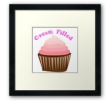 Iskybibblle Products/ Cream Filled Framed Print