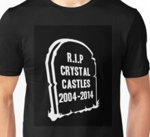 RIP CRYSTAL CASTLES Unisex T-Shirt