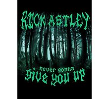 Never Gonna Give You Up - Rick Astley Photographic Print