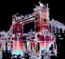 london at night 3 by dnlddean