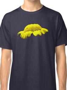 Yellow Button Flower Classic T-Shirt