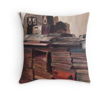 'Round Midnight Throw Pillow