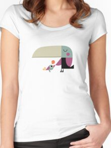 Hello Toucan Women's Fitted Scoop T-Shirt
