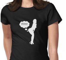 PFFFF! Womens Fitted T-Shirt