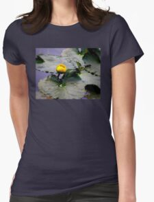 Rocky Mountain Lilly Pad Womens Fitted T-Shirt