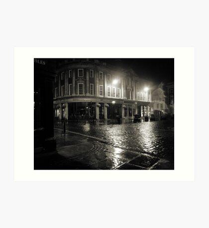 Blakes Square early dawn Art Print