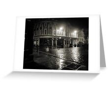 Blakes Square early dawn Greeting Card