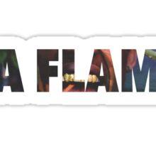 Travis Scott 'La Flame' T-SHIRT Sticker