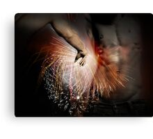 The Spark Of Creation Canvas Print