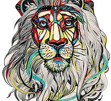 Psychedelic Lion by Zach Muldoon