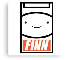 Adventure Time Finn the Human Canvas Print