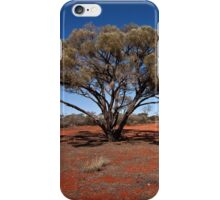 Outback tree near Uluru iPhone Case/Skin