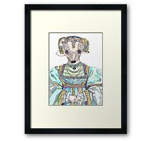 Holly the Humble Hopping Mouse Framed Print