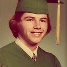 Last one! Yay!!! Hank 1976 Graduation...Cute went all downhill from here. It was nice while it lasted! by Hank Rodriguez