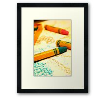 Color Lover Framed Print