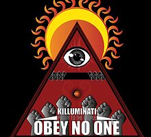 Killuminati Obey No One by Jesus Martin-Rodriguez