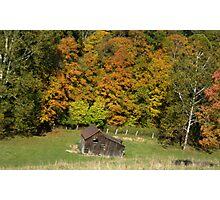 west virgina fall Photographic Print