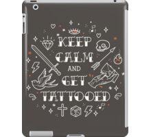 Keep Calm and Get Tattooed iPad Case/Skin