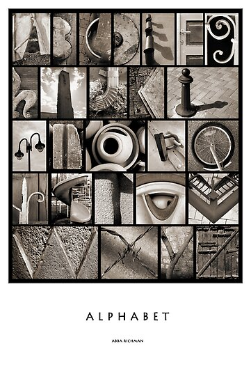 Alphabet by Abba Richman