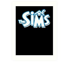 The sims logo Art Print