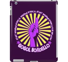 Gogol Bordello - Start Wearing Purple iPad Case/Skin