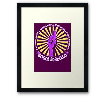 Gogol Bordello - Start Wearing Purple Framed Print