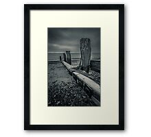 Shoreham Beach Framed Print