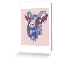 Rock Goat Greeting Card