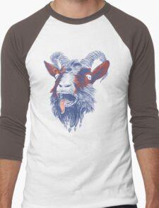 Rock Goat Men's Baseball ¾ T-Shirt