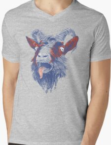 Rock Goat Mens V-Neck T-Shirt