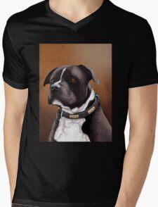 Staffordshire bull terrier 2 Mens V-Neck T-Shirt