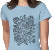 paisley  Womens Fitted T-Shirt