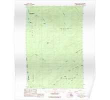 Maine USGS Historical Map Cunliffe Islands 105059 1986 24000 Poster