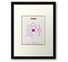 Potassium - Element Art Framed Print