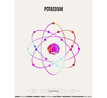 Potassium - Element Art Photographic Print